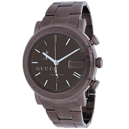 Gucci Men's 101 Series Watch Founded in Florence in 1921, Gucci is one of the world's leading luxury fashion brands. With a renowned reputation for quality and Italian craftsmanship, Gucci designs, manufactures and distributes highly desirable products. The Gucci brand is over 90 years old and is appreciated all over the world for its success, authenticity, and influence. Today more than ever, Gucci ¢â -â ¢s brand value is reflected in the perfect balance between its Florentine and Italian heritage and its reputation as a fashion leader.