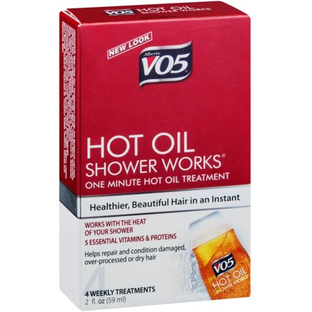 6 Pack - VO5 Hot Oil Shower Works Weekly Conditioning Treatment 2