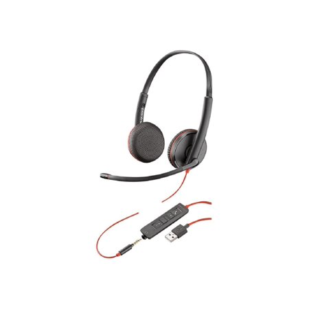 Plantronics BlackWire C3225 USB-A Headset
