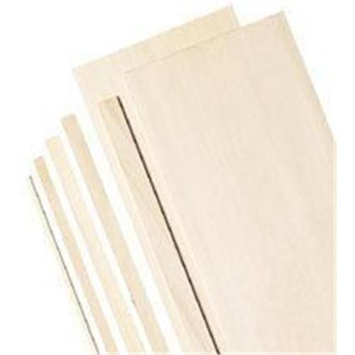 "(Price/PK)Alvin BS1142 4"" Wide Balsa Wood Sheets 1/16"""