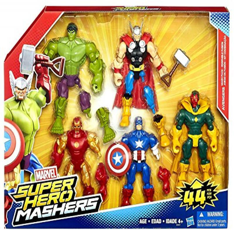 Marvel Super Hero Mashers Avengers Mash Pack by Hasbro
