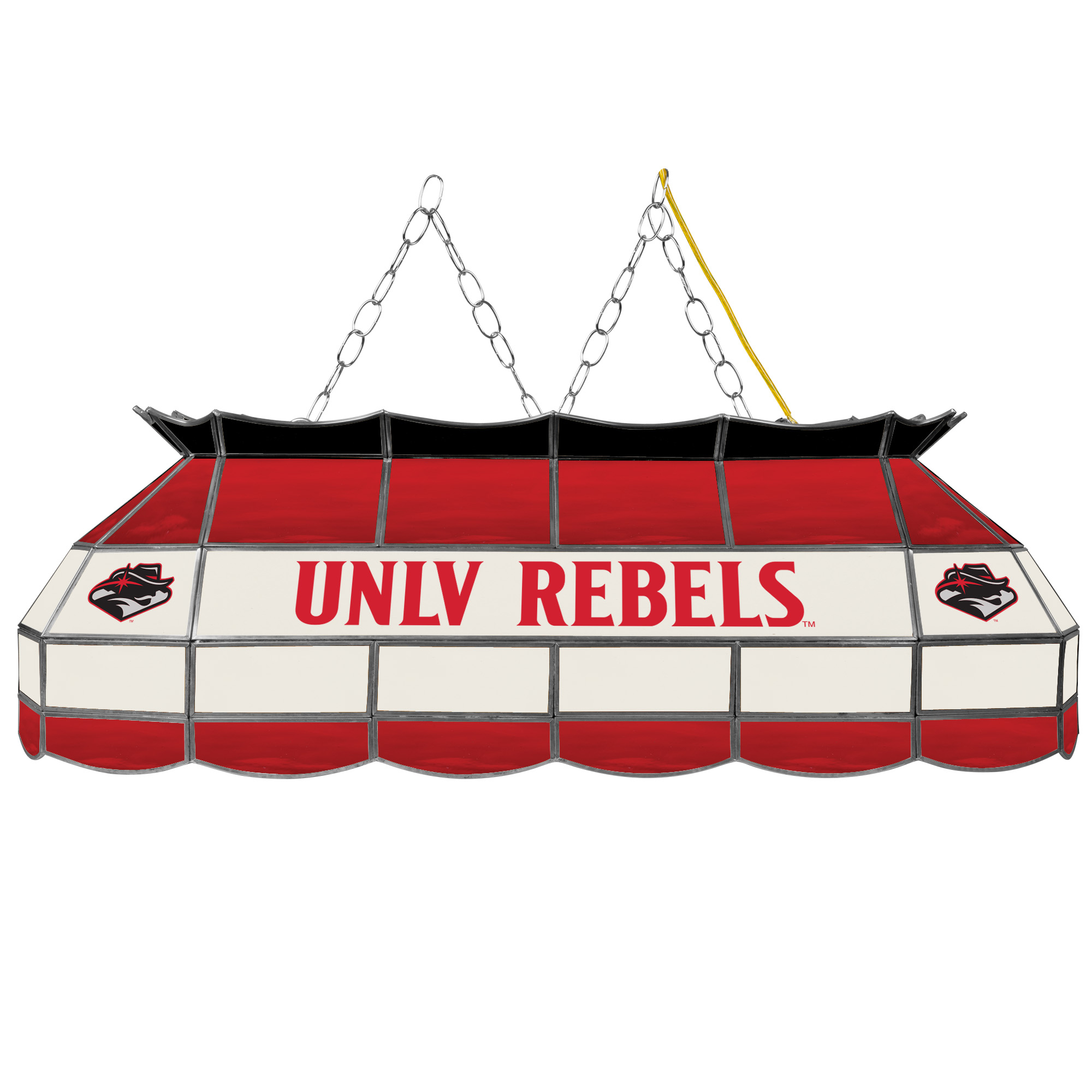 Unlv 40 Inch Stained Glass Billiard Tabl