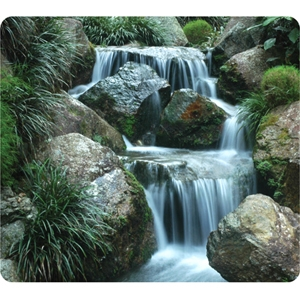 """Fellowes Inc. 5909701 Fellowes Earth 5909701 Waterfall Mouse Pad - Rubber Base"""