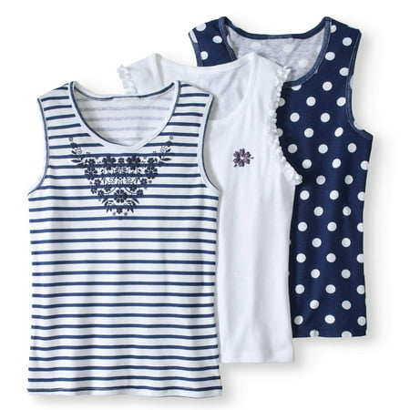 Girls' Fashion Tank Top 3-Pack - Pinterest Girls