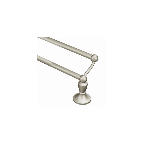 "Moen DN8222 24"" Double Towel Bar from the Wembley Collection by Moen"