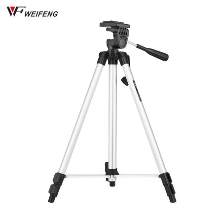 WEIFENG WT-330A Lightweight Portable Photography Tripod Aluminum Alloy Max. Load 3kg with 1/4