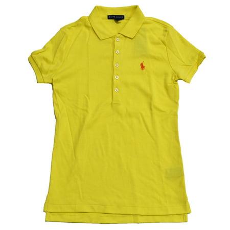 41bea984cd0a Ralph Lauren - polo ralph lauren womens classic fit interlock polo shirt  (s