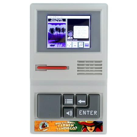 Carmen Sandiego - Handheld Computer Game