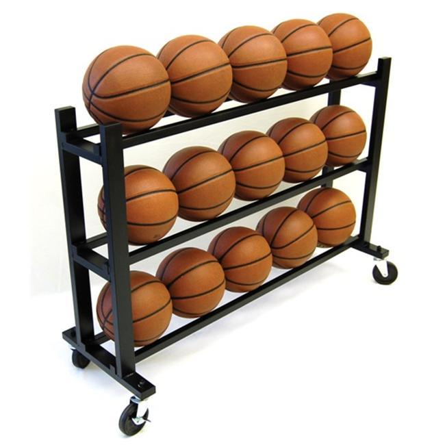 Trigon Sports CART315 ProCage 15-Ball HD Ball Cart 3-Tier