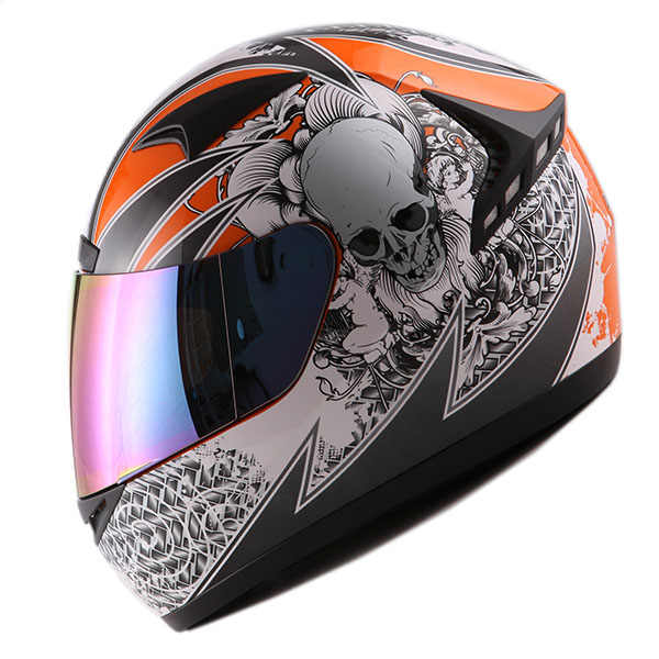 1STORM MOTORCYCLE BIKE FULL FACE HELMET BOOSTER MATT BLACK