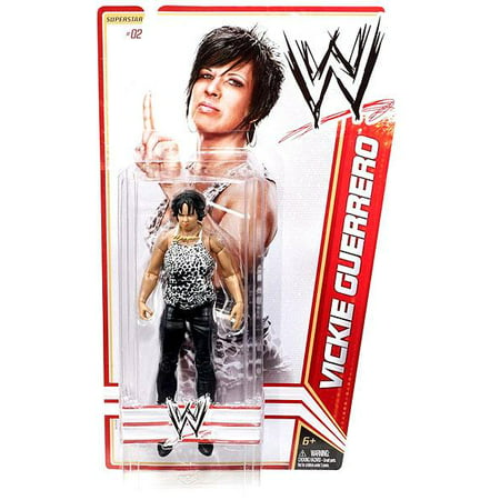 WWE Wrestling Basic Series 13 Vickie Guerrero Action Figure (Wwe Action Figures Vickie)