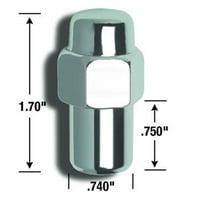 73147B Lug Nut Standard Mag, 14 mm. X 1.5