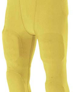 A4 Youth Flyless Integrated Football Pants GOLD M NB6180 by A4