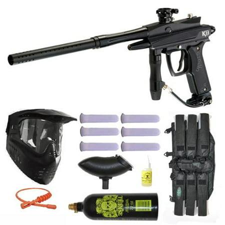 Azodin Kaos-D II Paintball Marker Gun 3Skull Mega Set