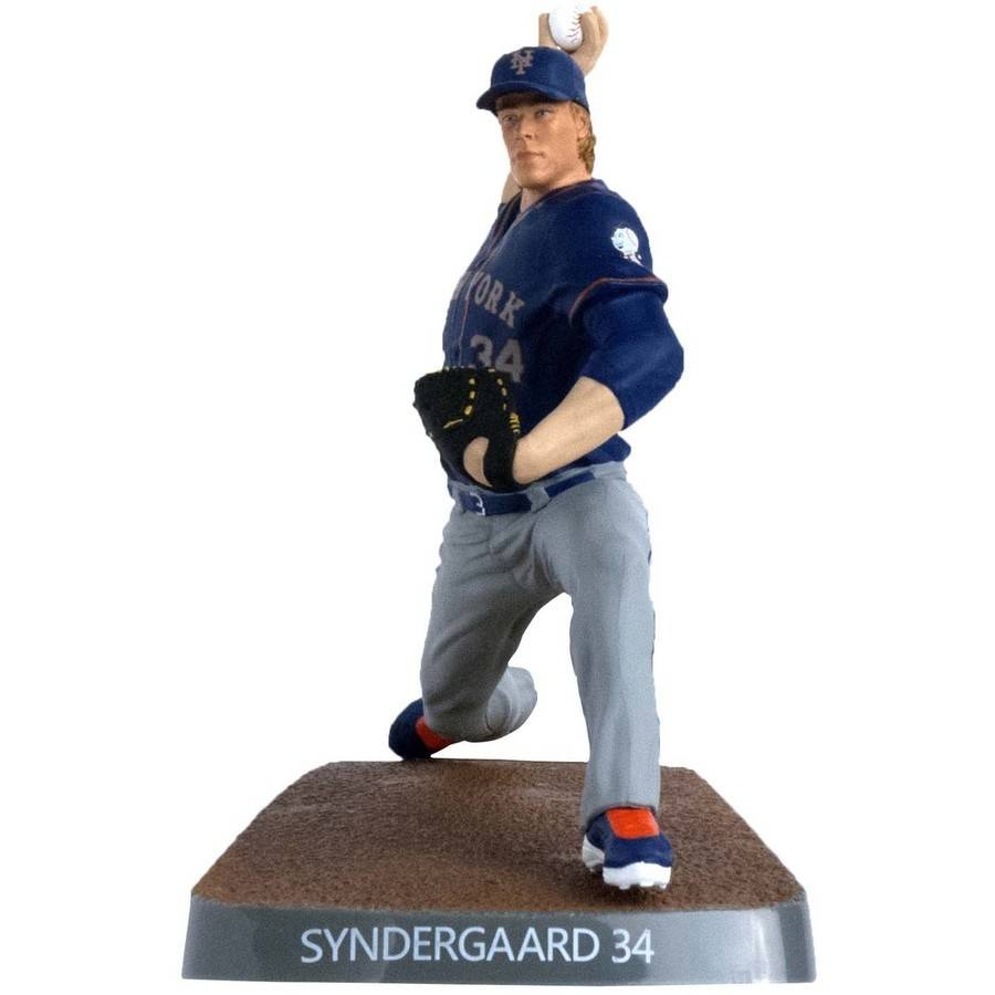 """MLB Figure ID279X MLB New York Mets Noah Syndergaard 6"""" Collectible Figure by Imports Dragon"""