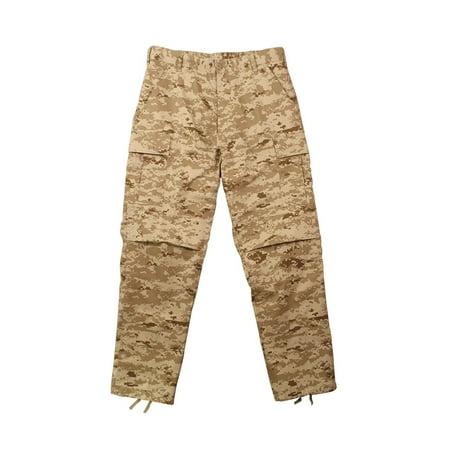 Ultra Force Army BDU Pants, Desert Digital Camo, Mens Size XL