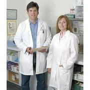 LANDAU 8723-18 Lab Coat, Female, White, 36 In. L