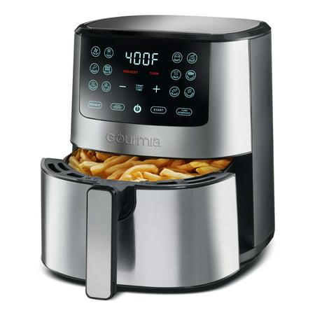 Gourmia 4-Qt Stainless Steel Digital Air Fryer