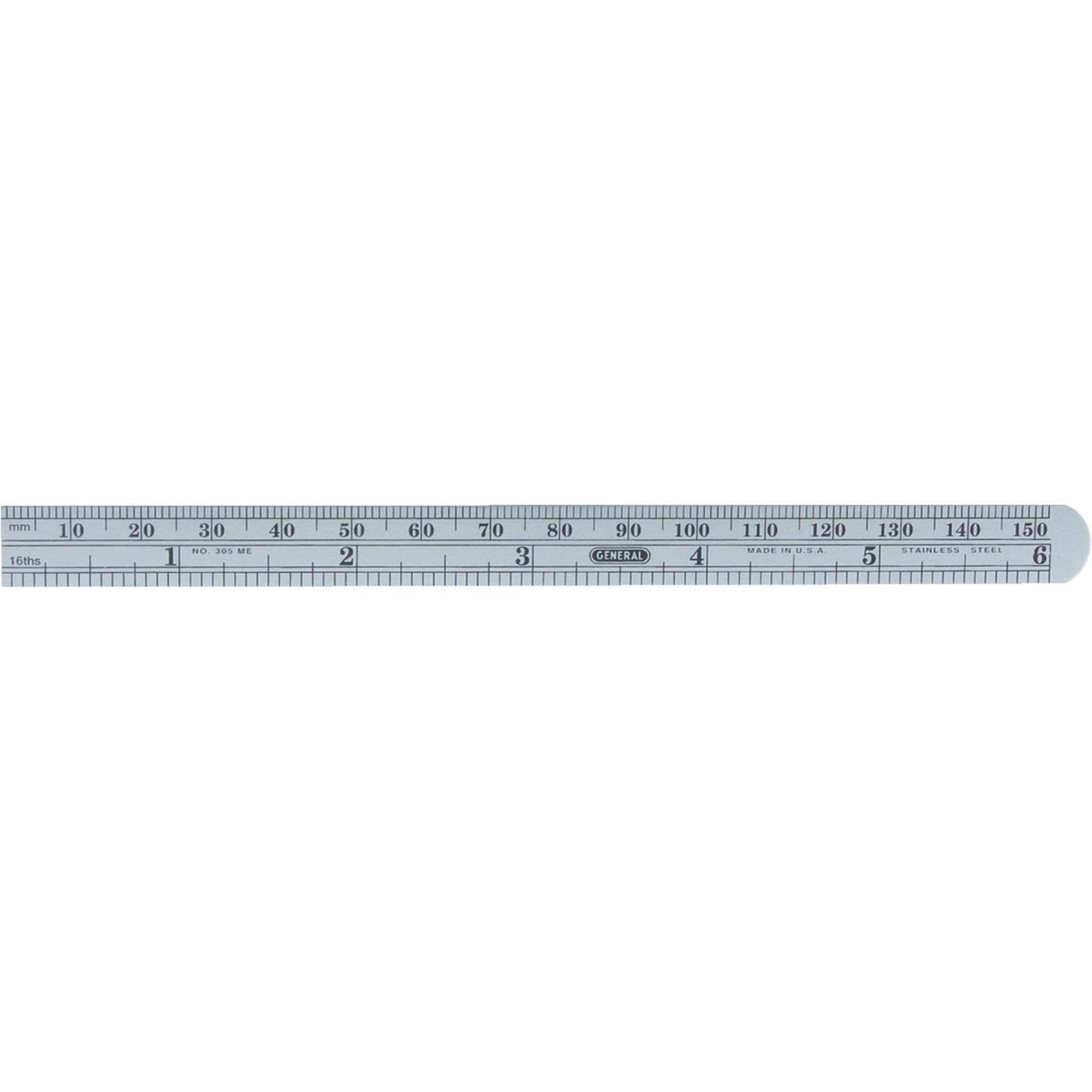 General Tools Economy Flexible Straight Edge Ruler