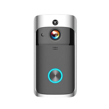 WiFi Smart Wireless Security DoorBell Smart HD 720P Visual Intercom Recording Video Door Phone Remote Home Monitoring Night