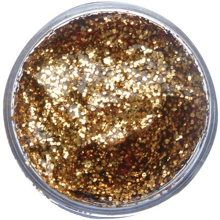 - Face & Body Glitter Gel Red Gold Clam Pack