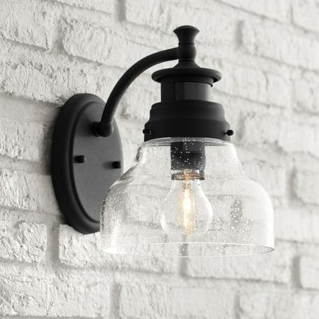 - John Timberland Modern Outdoor Wall Light Fixture Black 10