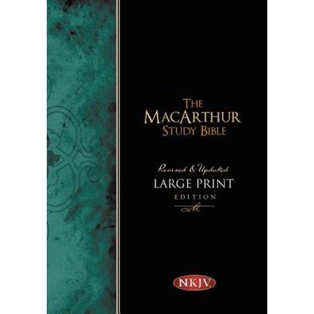 macarthur study bible nkjv large print walmart com