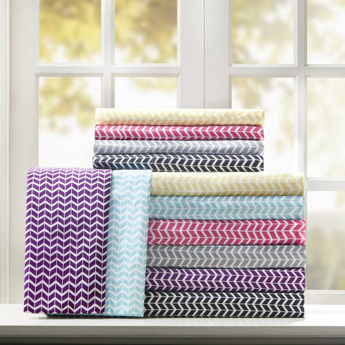 Comfort Classics Chevron Ultra Soft Microfiber Sheet Set