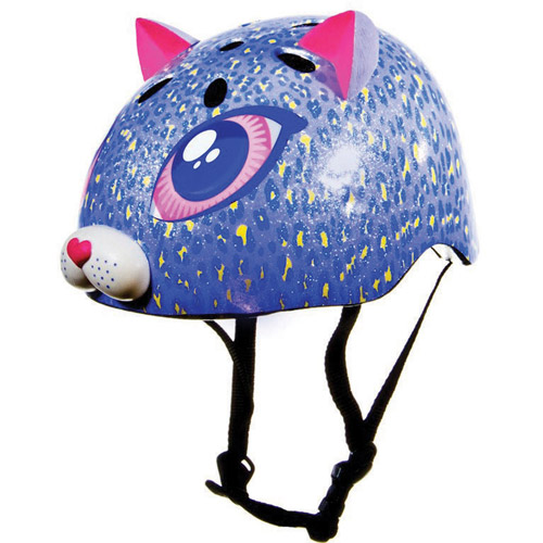 Raskullz Toddler Helmet, Purple Kitty