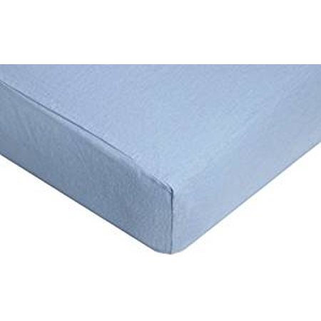 American Baby Company Newly Improved 100% Cotton Flannel Fitted Crib Sheet, Blue, for Boys and Girls