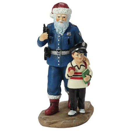 - Precious Moments Officer S. Claus Figurine