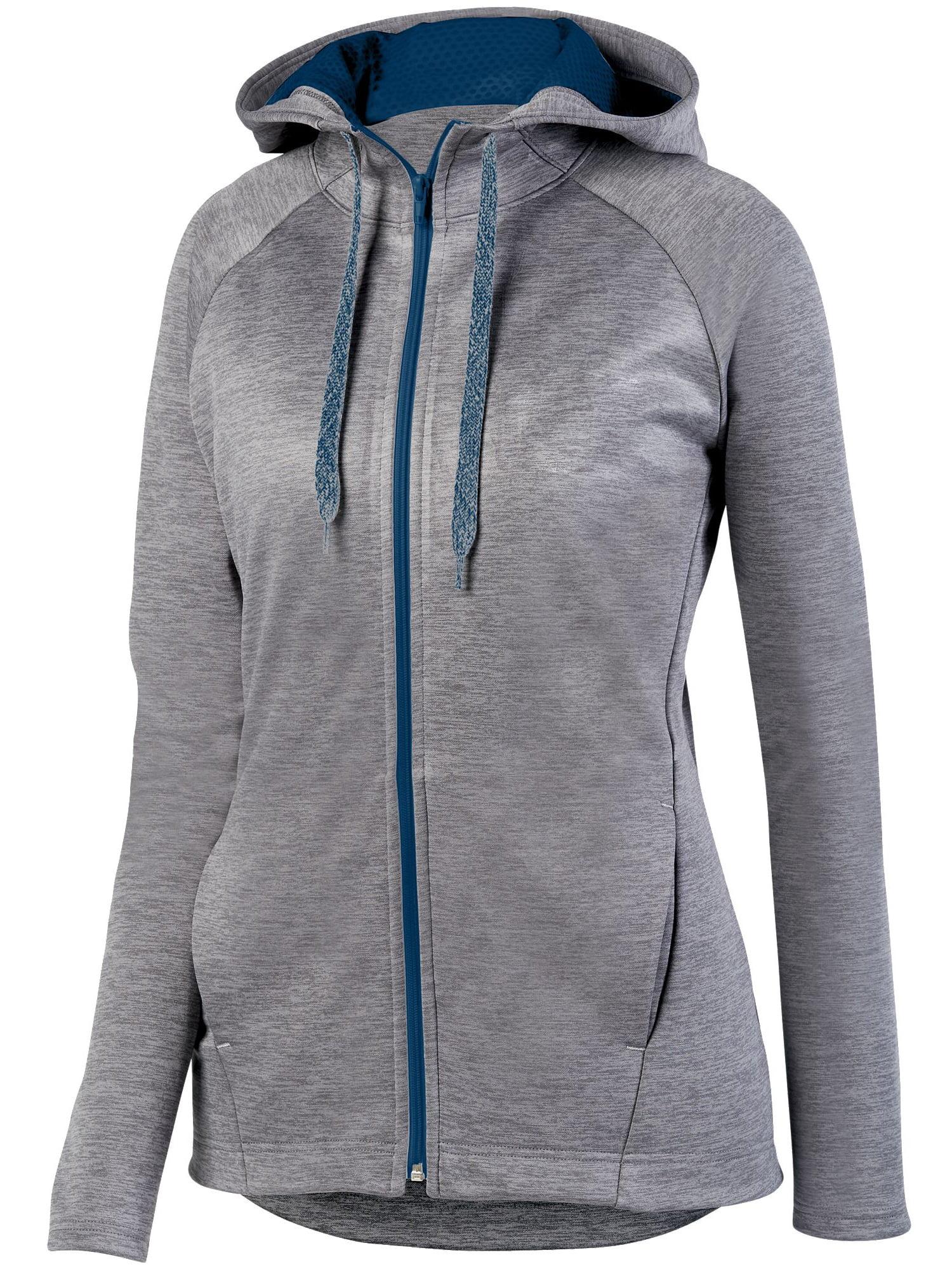 Augusta Sportswear Women's Zoe Tonal Heather Full Zip Hoody 5558