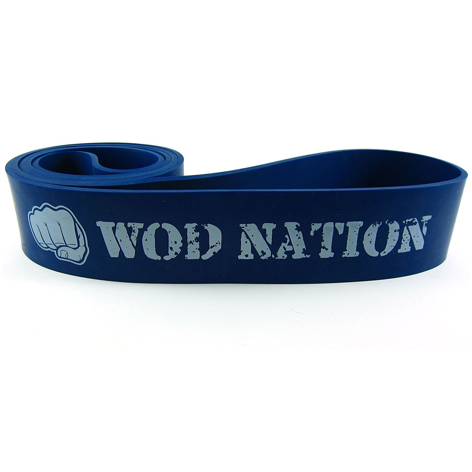 """Pull Up Assist Band 41/"""" by WOD Nation Video Workout Training Black Blue Purple"""