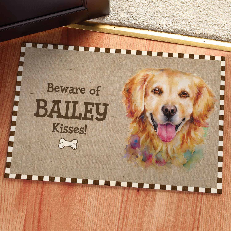 Personalized Dog Breeds Doormat