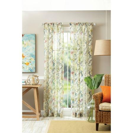 Better Homes & Gardens Tropical Sheer Floral - Tropical Decor