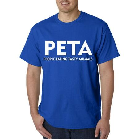 608 - Unisex T-Shirt Peta People Eating Tasty Animals