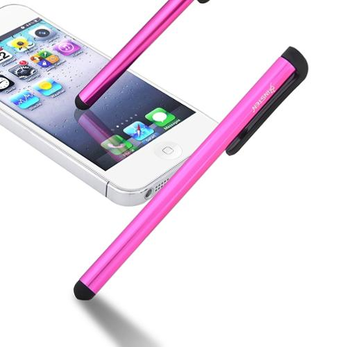 Insten Universal Touch Screen Stylus For iPhone 6+ 6 5 5S 5C 5 4S 4 / iPad / Xoom / Playbook /Samsung / HTC / LG Pink