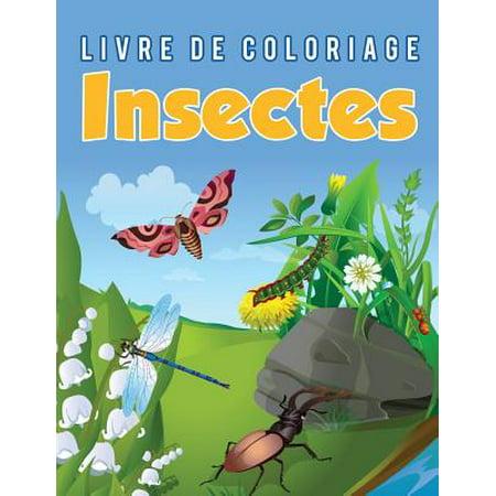 Livre de Coloriage Insectes - Coloriages Halloween