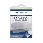Levinsohn Textile Cooling Jacquard White Pillow Cover with Mesh