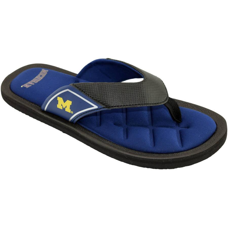 Michigan State Men's Padded Thong Sandals