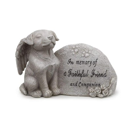 Napco Small Dog Memorial Stone by Napco