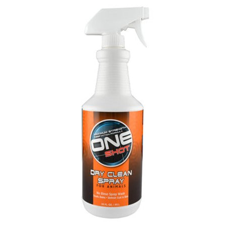 One Shot Dry Clean Spray - 32 oz One Shot Dry Clean (Best Dry Carpet Cleaner Product)