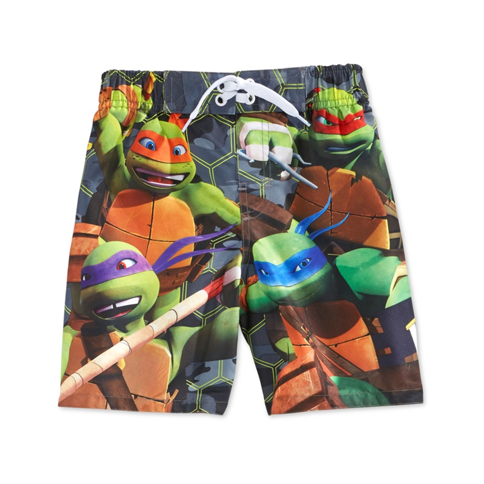 Teenage Mutant Ninja Turtles Nickelodeon Boy Swim Trunks Shorts Size 6