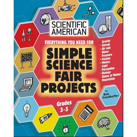 Scientific American, Simple Science Fair Projects, Grades (Good Science Fair Ideas For 8th Grade)