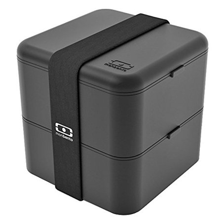 - monbento 3760192681933 mb square bento box-black