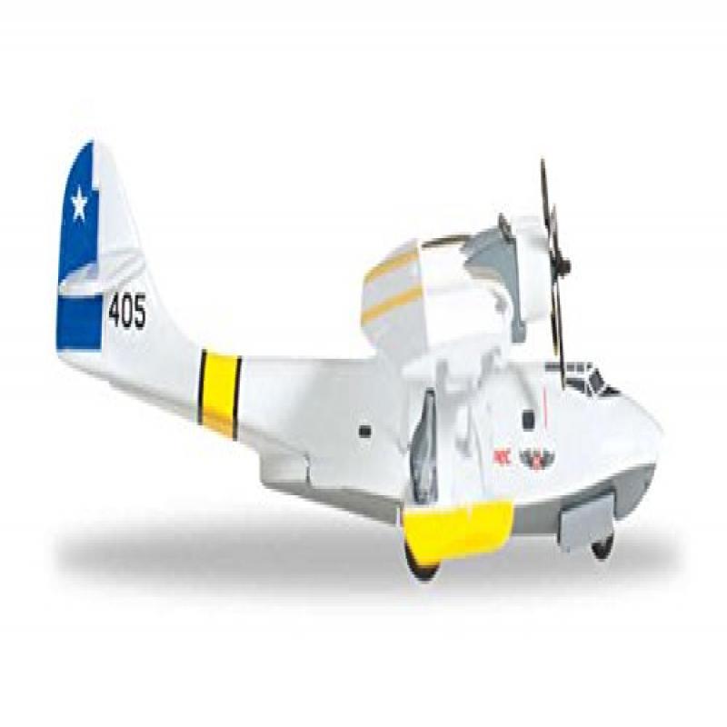 HE557009 Herpa Wings Chilean Air Force PBY5 1:200 Manu Tara Model Airplane by Herpa
