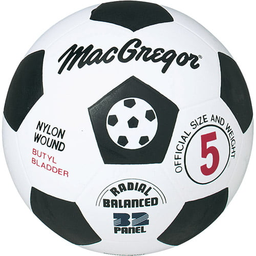 MacGregor Rubber Soccer Ball, Size 4 by Generic