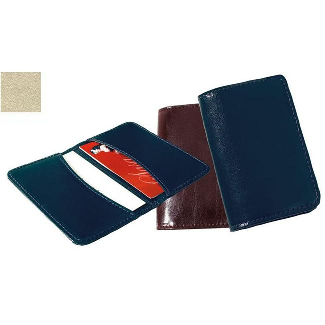 Raika ST 112 PINK Full Leather Business Card Holder - Pink