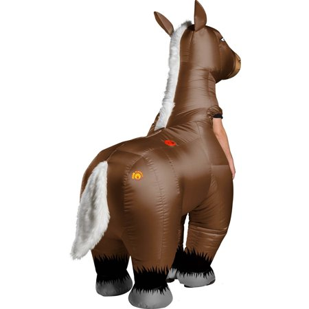 Adult Mr. Horsey Inflatable Halloween - Mr Hyde Costume