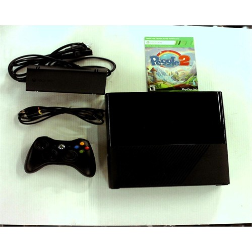 Refurbished Xbox 360 4GB System Console with Peggle 2 Bundle
